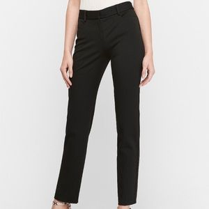 Express Mid Rise Columnist Ankle Pants